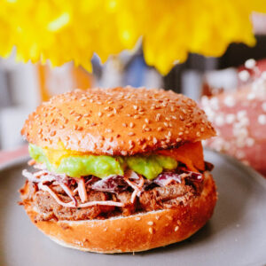 Burger shiitaké