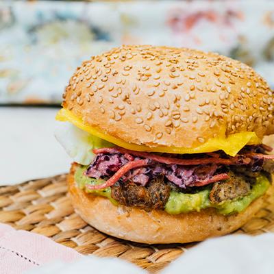 burger shiitake