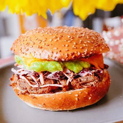 burger shitake